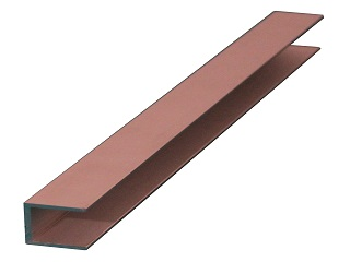 U-profile, 22X30X22X2 mm, Per meter