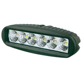 SWEDSTUFF Arbetslampa 6LED. 18W. 12-24V DC