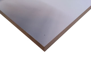 Side wall Azure L, 250 cm, Multiplex, Light grey