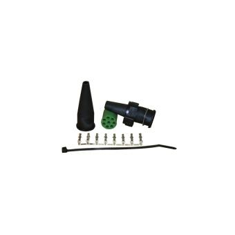 Bajonett koppling 5-polig hona grön