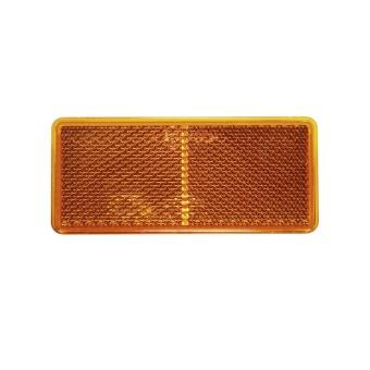 Reflex - rektangel  90x40 mm - orange
