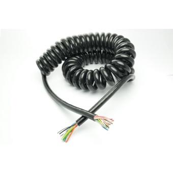 Spiralkabel - flexibel anslutningskabel