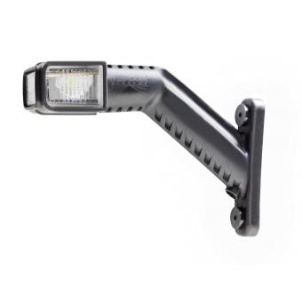 Bredd-(sido)lykta Aspöck SUPERPOINT IV LED - höger 1m kabel 12v DC