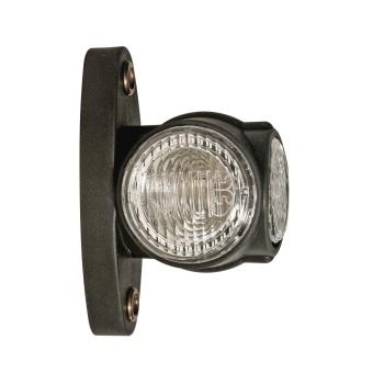 Bredd-(sido)lykta Aspöck SUPERPOINT III LED vänster/höger direkt monteringsversion