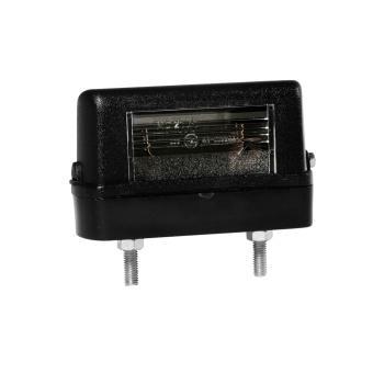 Skyltbelysning Aspöck REGPOINT SMALL med LED kabel 0,8m DC 12v