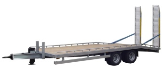 Regular deck with beavertail 6500kg