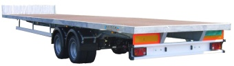 Regular deck, single axle 7000kg