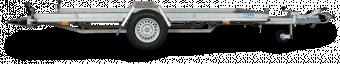 Reko Biltrailer 1500 kg - 188x380 - hel botten i sträckmetall