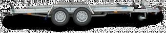 Reko Biltrailer 2600 kg - 198x400 - hel botten i sträckmetall