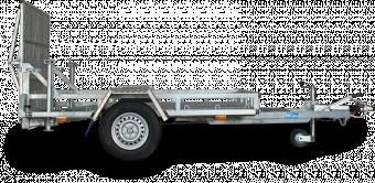 Reko maskintrailer 1500 kg - 150x250 lämhöjd 17 cm