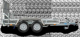 Reko maskintrailer 2600 kg - 150x300 lämhöjd 17 cm