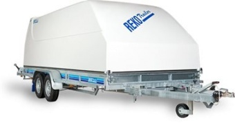 Reko Combitrailer 3500 kg - 212x530 lämhöjd 17 cm - tippat