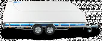 Reko Combitrailer 2600 kg - 198x500 lämhöjd 17 cm - tippat