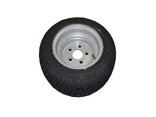 Kompletta hjul - Sommardäck 195/50R10C Plåt 5x112