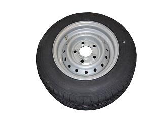 Kompletta hjul - Sommardäck 155/70R12C Plåt 5x112