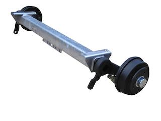 Axle CB 1355 kg, Eco, pad 800