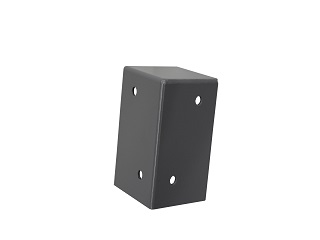 Roof / corner support (ral 9006)