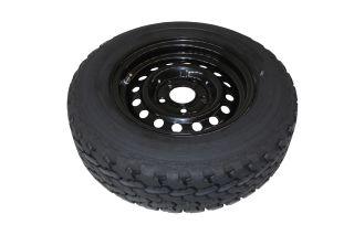 Kompletta hjul - Sommardäck 185/70R13C Svart plåt 5x112
