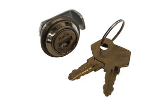 Lock with 2 keys, for closure back door with Hapert-logo, from 2015