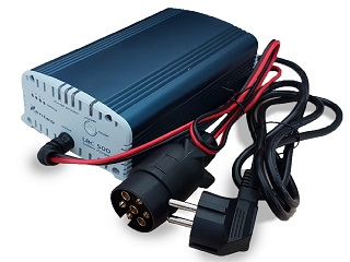 Battery charger with pin connection 7 poles