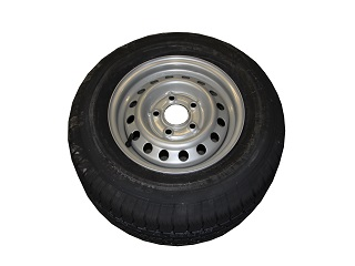 Kompletta hjul - Sommardäck 185/70R13C Plåt 5x112