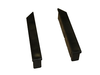 "Cap below for aluminium wall ""TIR"" 30 cm, bottum (left and right)"