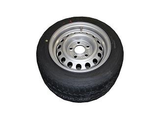 Kompletta hjul - Sommardäck 195/50R13C Plåt 5x112