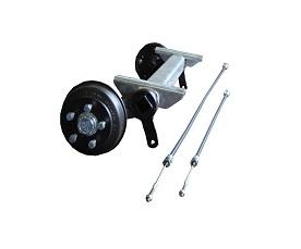 Axle CB 1505 kg, Eco, pad 800