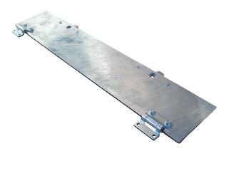 Lock sheet for rampcarrier, for model Cobalt HM 405, assembled