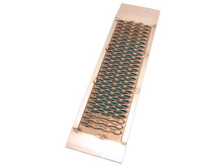 """Drive-on ramp """"250"""" aluminium with open structure, a piece"""