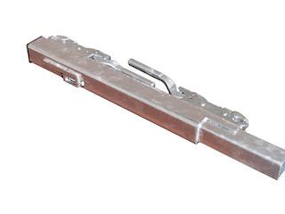 Corner post Cobalt H, Back, 60 cm, Pendulating, Right