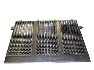 Tailramp for model Indigo LT 1600 mm wide and 1000 mm high, galvanised