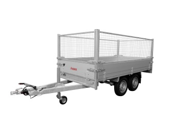 Anssems PSX-S med gallergrindar 75 cm 3000 kg 325x178 cm