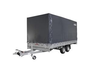 Anssems PSX-S med kapell 210 cm 3000 kg 405x178 cm