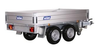 Variant 1-vägstippsläp 2015 T2 2000 kg 254x145x35 cm