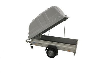 Hapert Basic L1 750 kg obromsat med kåpa 100 cm