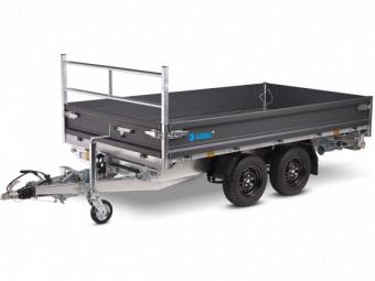 Hapert Cobalt Plus - extra aluminium förhöjningssidor 40 cm - 335x180 cm
