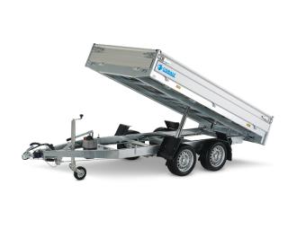 Hapert Cobalt HB2 - Multi - förhöjningssidor 40 cm - 2700 kg - 305x160 cm - Handpump