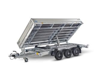 Hapert Cobalt HM-3 Multi - Aluminium lämmar 70 cm plus 30 cm - 3500 kg - 405x200 cm