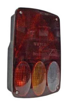 Earpoint IV vänster med dim ljus och bak ljus  (5 pin och 8 pin)