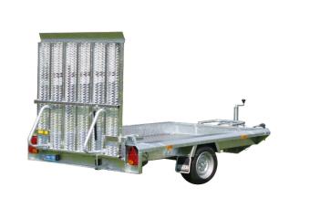 Hapert Indigo LF1 med 2 ramp bak istället hel - 1800 kg - 310x164 cm