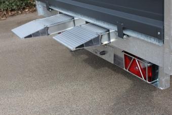 Rampfack exkl. montering och flackförstärkning - bredd 240 cm