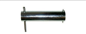 Axel för stödhjul Ø 20x84