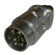 Stickpropp 7-polig, aluminium