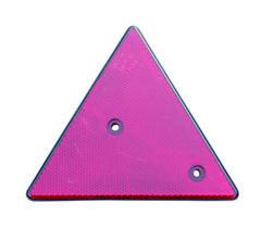 Variant Reflex Röd triangel 140 x 160 mm mm