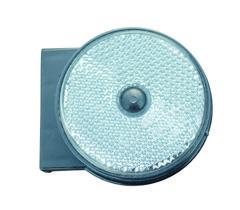 Variant Reflex vit rund med hållare