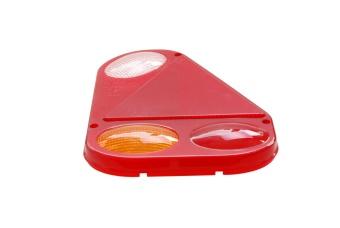 Baklykteglas Radex 2900 höger med backlampa