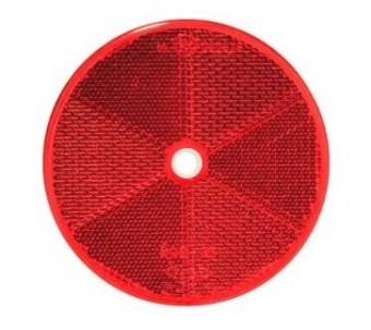Variant Reflex rund röd