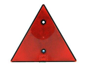 Reflex röd triangel