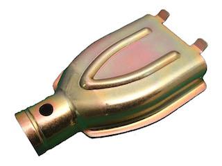 Brake cable-insert, For axles CB